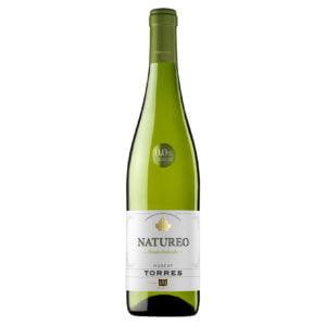 Ampolla de vin blanc sense alcohol Natureo de Torres