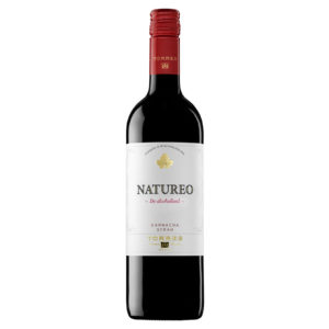Alcohol-free red wine bottle Natureo Torres