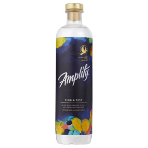 Alcohol-free spirit bottle Amplify