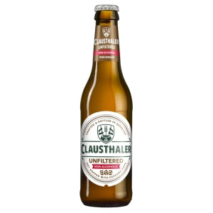Image of alcohol-free beer Clausthaler Unfiltered