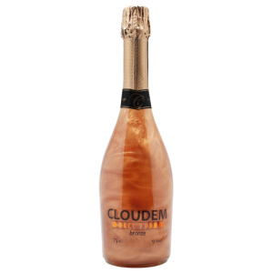 Botella de espumoso sin alcohol Cloudem Bronze