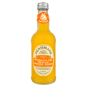 Botella de refresco Fentimans Mandarin and Seville Orange Jigger