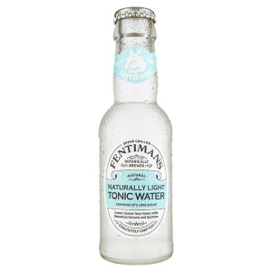 Botella de tonica Fentimans Naturally Light Tonic Water
