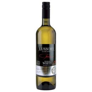Botella de vino blanco sin alcohol Lussory Premium White Macabeo & Airen