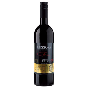 Alcohol-free red wine bottle Lussory Tempranillo