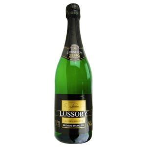 Ampolla d'escumós sense alcohol Lussory Sparkling Premium