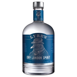 Alcohol-free gin bottle Lyre's Dry London