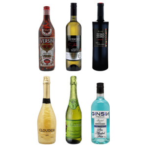 Pack basic de 6 bebidas sin alcohol de The Blue Dolphin Store