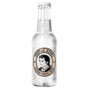 Tonic water bottle Thomas Henry Elderflower Tonic