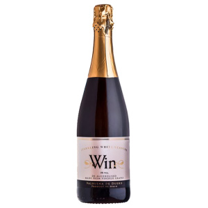 Alcohol-free sparkling wine bottle Win Sparkling
