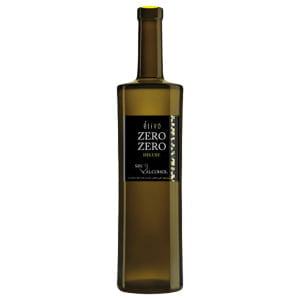 Botella de vino blanco sin alcohol Zero/Zero
