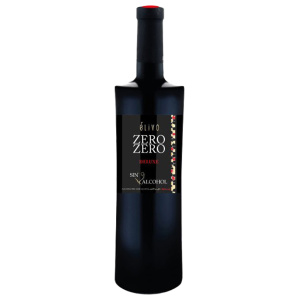 Alcohol-free red wine bottle Zero/Zero Deluxe
