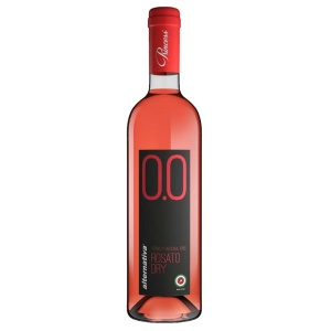 Alternativa 0.0 rosado sin alcohol