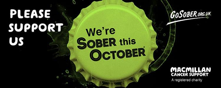 Go Sober October logo