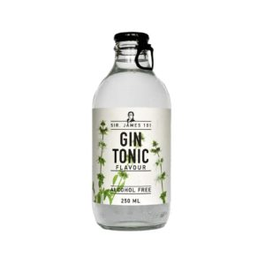 Gin tonic sense alcohol Sir James 101
