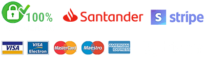 Pago 100% Seguro - Banc Santander - Stripe