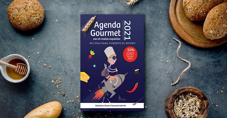 Agenda Gourmet 2021 with alcohol-free drinks recipes