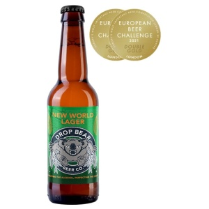 Drop Bear New World Larger Non Alcohol Beer