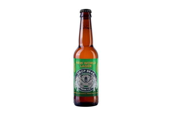 Cerveza artesana sin alcohol Drop Bear Lager