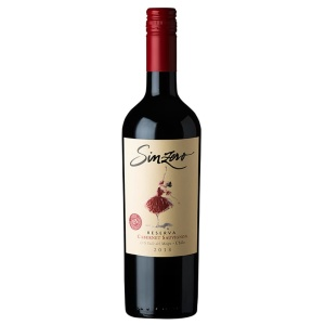 alcohol-free wine sinzero red Cabernet Sauvignon