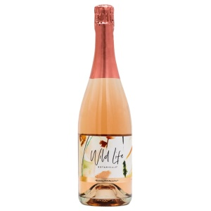 alcohol-free sparkling wine wild life botanicals blush