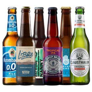 cervezas sin alcohol