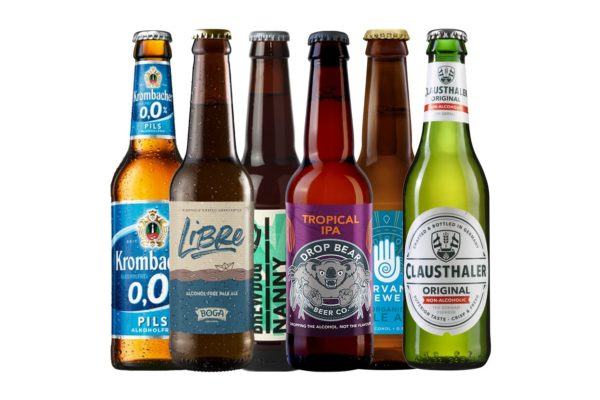 non-alcoholic beers