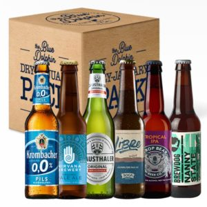 Dry January alcohol-free beer pack