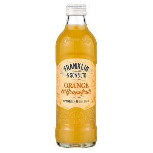 refresc de taronja Franklin & Sons Orange & Grapefruit
