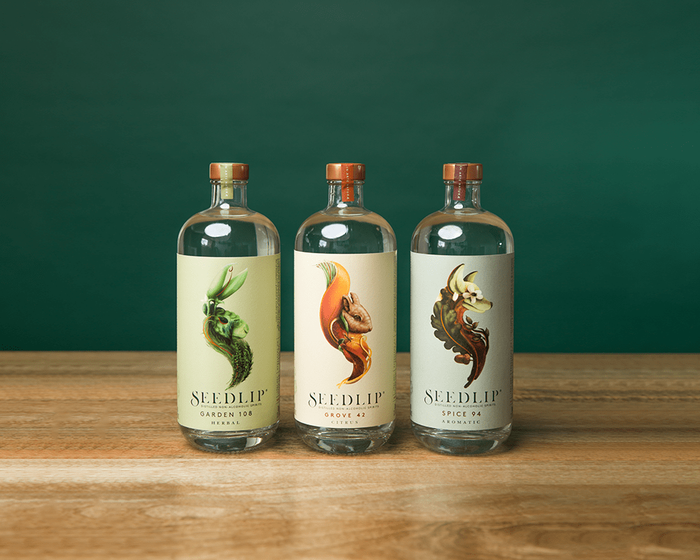alcohol-free drinks Seedlip gin