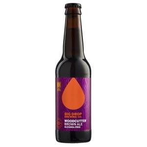 cervesa sense alcohol Brown Ale de Big Drop