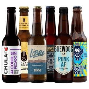 pack cata de cervezas sin alcohol