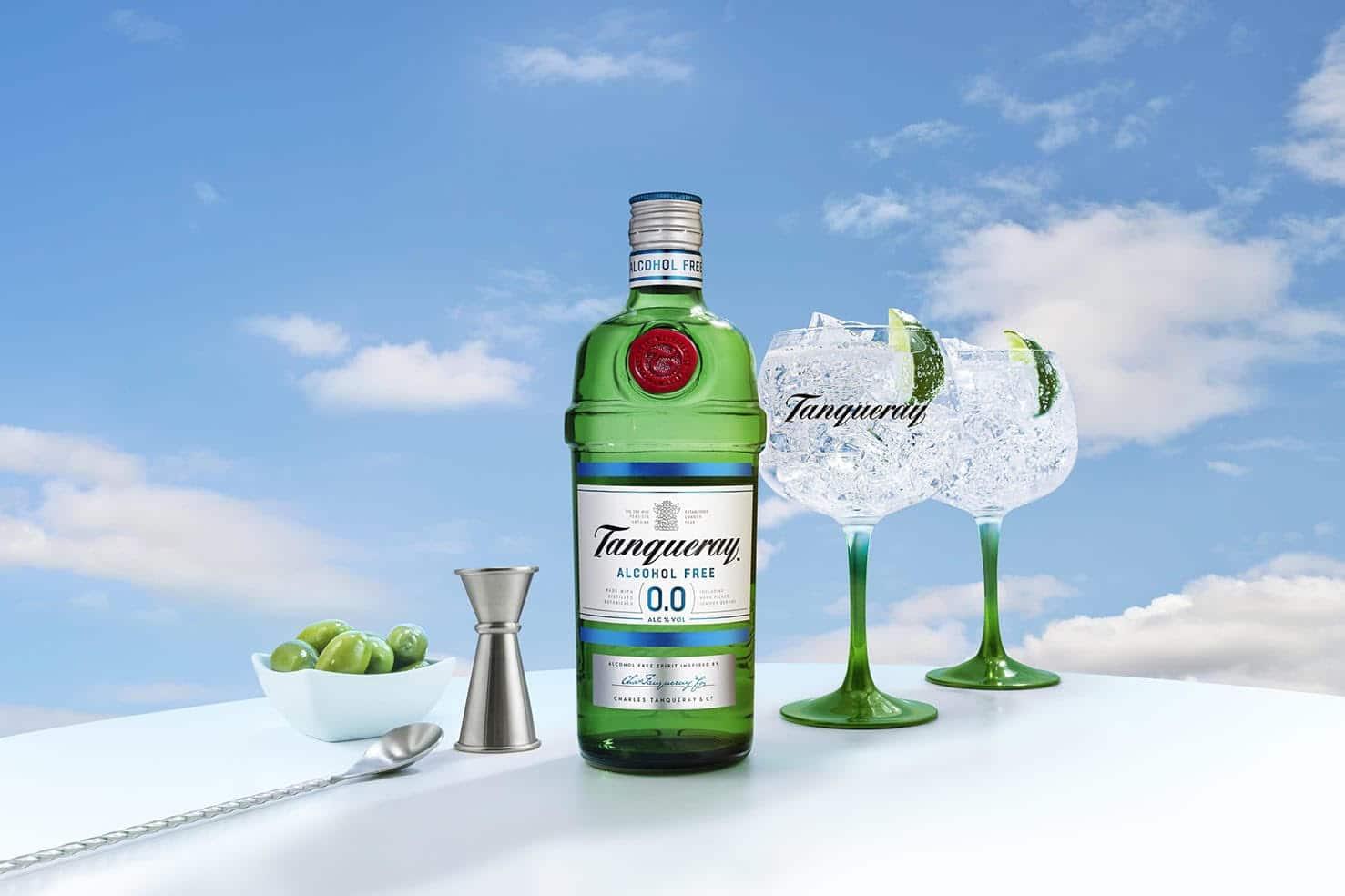 El éxito de Tanqueray 0.0, la ginebra sin alcohol que triunfa en bares y hogares