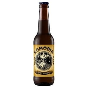Komodin Dark Cerveza Sin Alcohol negra