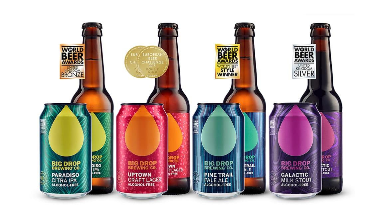 Big Drop, el placer de la cerveza sin alcohol más laureada de mundo